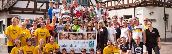 Teilnehmer Sponsorenrennen