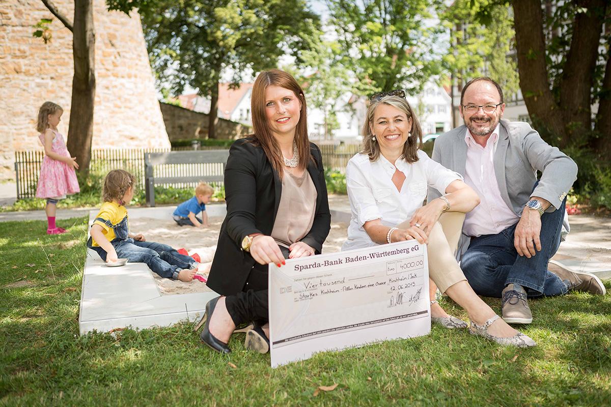 Sparda-Bank spendet 4000 Euro an Starkes Kirchheim