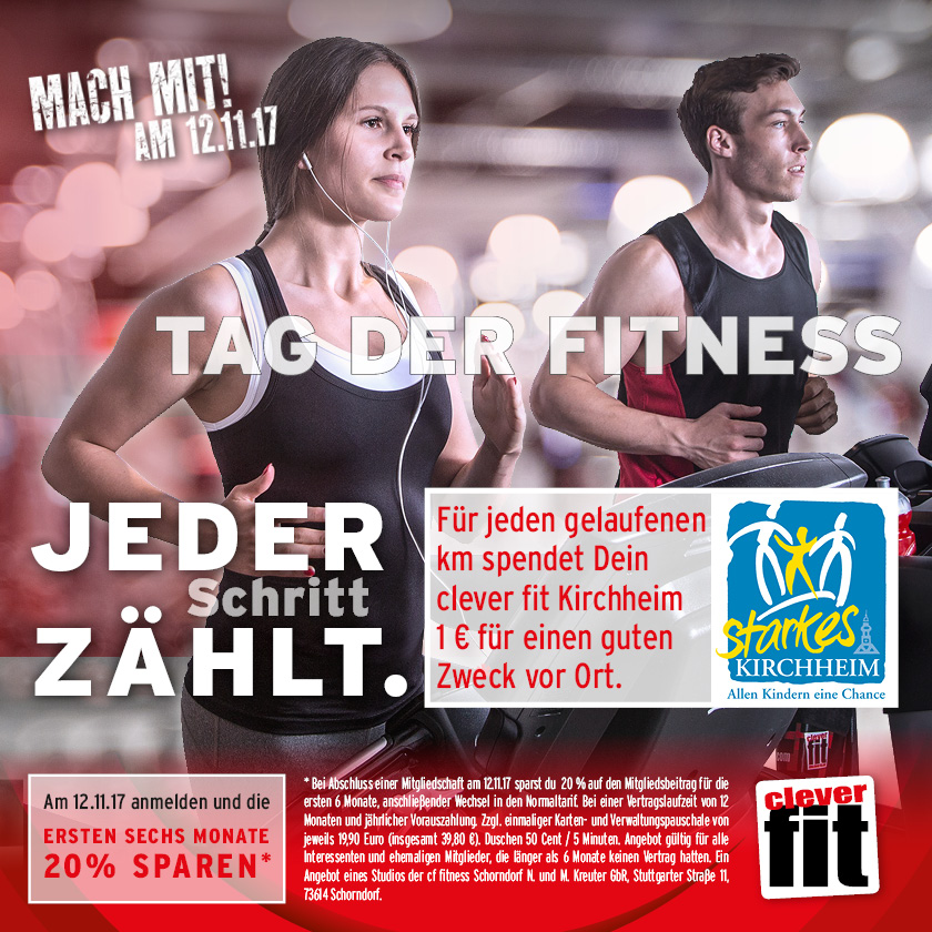 Kampagne Tag der Fitness 2018 Starkes Kirchheim